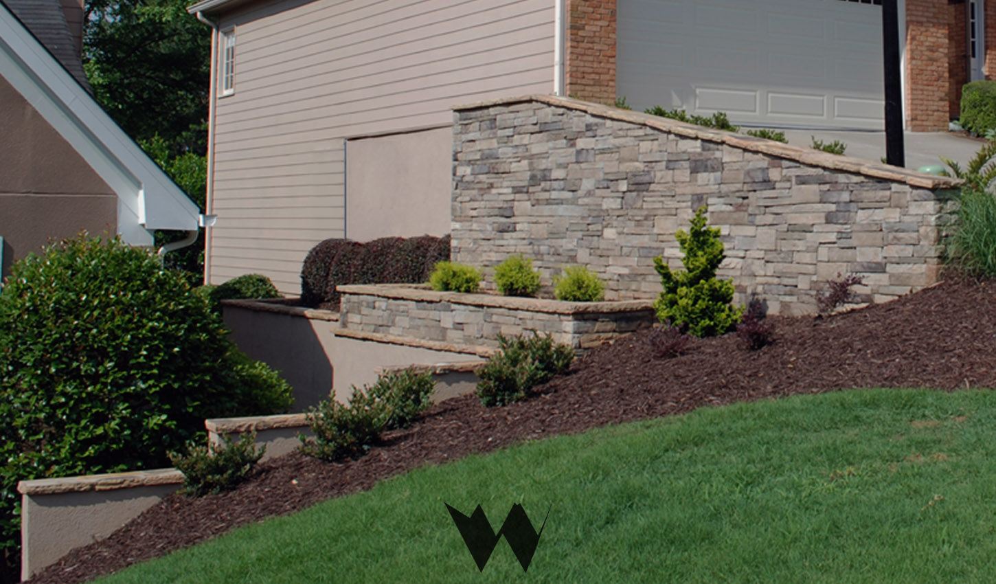 retaining wall replacement alpharetta ga
