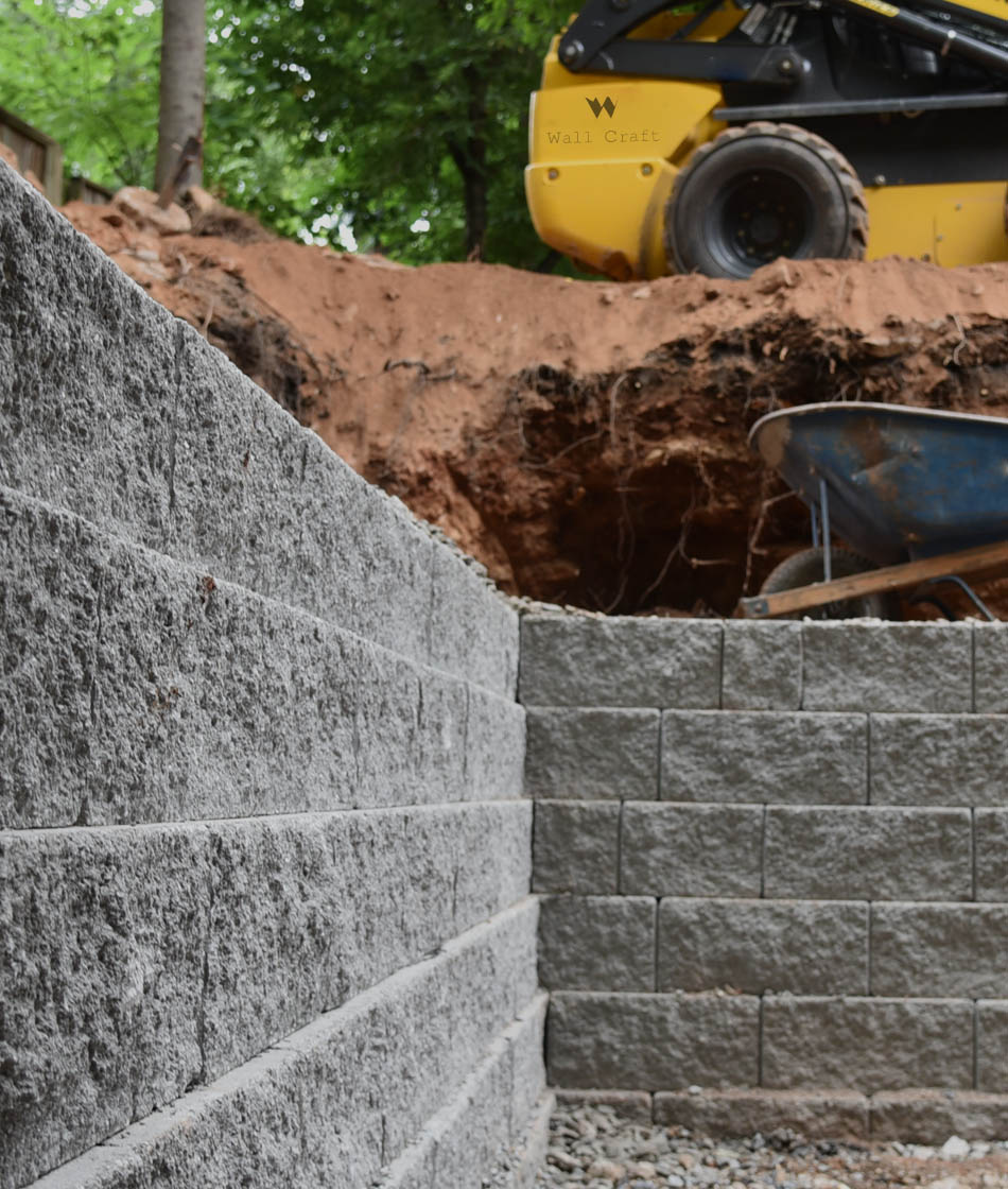 block retaining wall atlanta